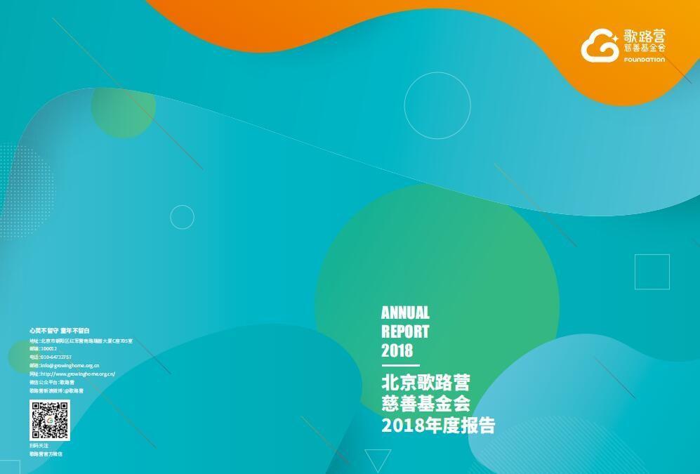 關愛留守兒童|北京歌路營慈善基金會2018年度工作報告